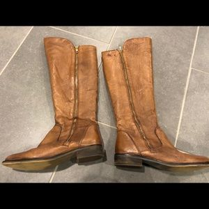 Steve Madden Leather SHAWNY riding boots size 7